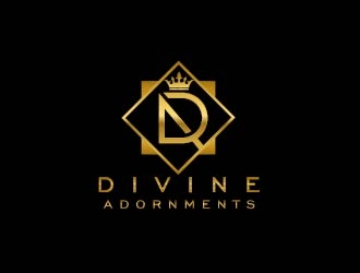 Divine Adornments logo design