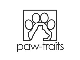 Paw-Traits logo design winner