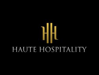 Haute Hospitality logo design