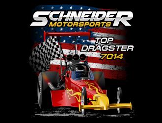 Schneider Motorsports logo design winner