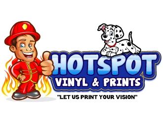 Hotspot Vinyl & Prints                   logo design winner