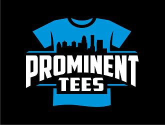 Prominent Tees logo design