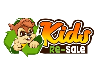 Kid's Re-Sale logo design