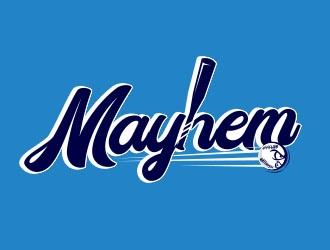 Mayhem logo design