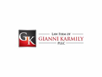 Law Firm of Gianni Karmily, PLLC logo design