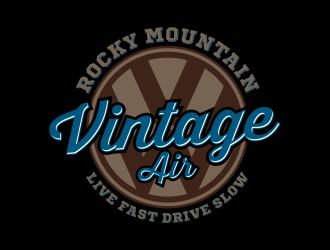 Rocky Mountain Vintage Air  Logo Design