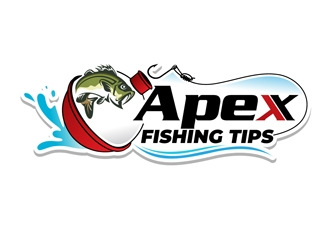 Apex Fishing Tips logo design winner