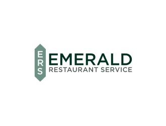 Emerald Restaurant Services logo design winner