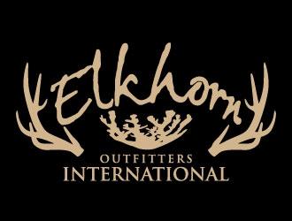 ELKHORN OUTFITTERS INTERNATIONAL logo design winner