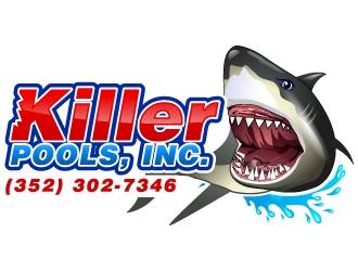 Killer Pools, Inc. logo design