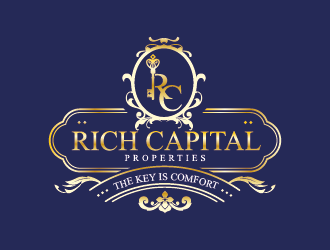 Rich Capital Properties logo design