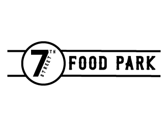 7th Street Food Park logo design by pambudi