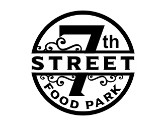 7th Street Food Park logo design by cikiyunn