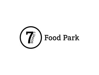 7th Street Food Park logo design by N3V4