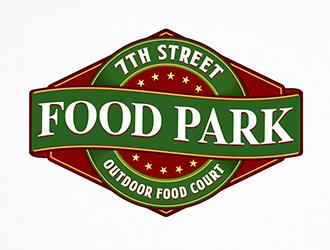 7th Street Food Park logo design by Optimus
