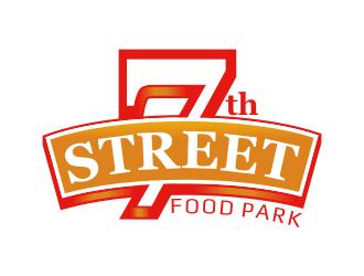7th Street Food Park logo design by rgb1