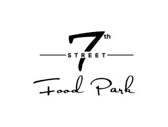 7th Street Food Park logo design by Gwerth