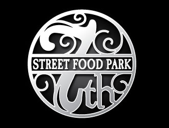 7th Street Food Park logo design by REDCROW