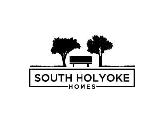 South Holyoke Homes logo design