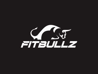 Fitbullz logo design