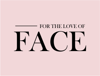 For The Love of Face logo design