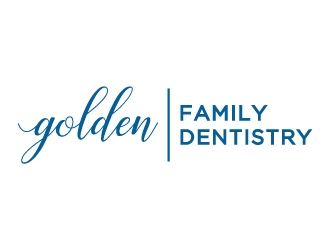 Golden Family Dentistry logo design