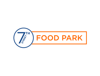 7th Street Food Park logo design by bricton