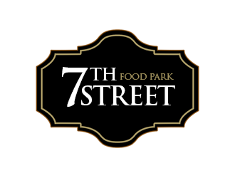 7th Street Food Park logo design by kunejo