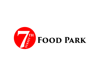 7th Street Food Park logo design by akhi