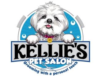Kellies Pet Salon logo design winner