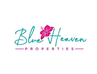 Blue Heaven Properties logo design