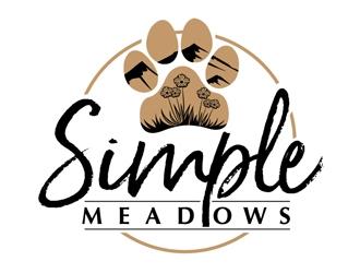 Simple Meadows  logo design