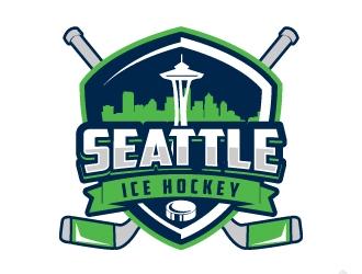 Seattle Ice Hockey logo design by jaize