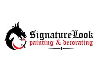 Signature Look Painting & Decorating logo design