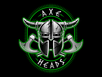 Axe Heads logo design