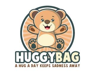 HuggyBag logo design
