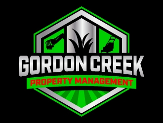 gordon creek property management  logo design