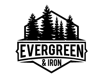Evergreen & Iron logo design