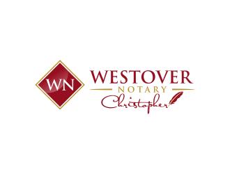 Westover Notary logo design