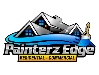 Painterz Edge logo design