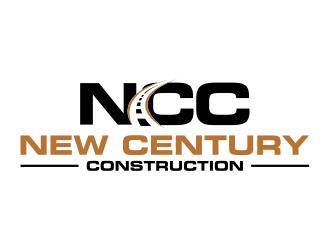 New Century Construction logo design