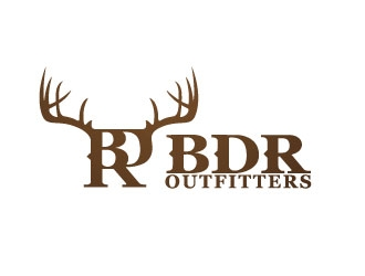 BDR Outfitters logo design
