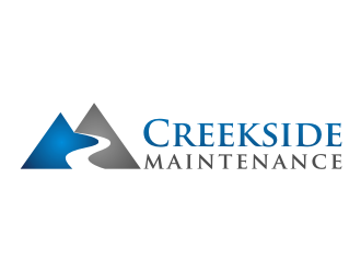 Creekside Maintenance logo design