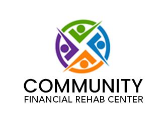 Community Financial Rehab Center logo design
