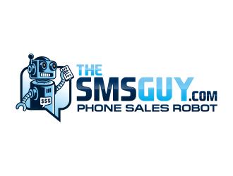 TheSMSGuy.com logo design
