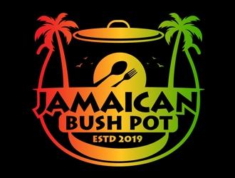 Jamaican Bush Pot logo design