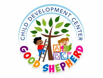 Good Shepherd Child Development Center logo design