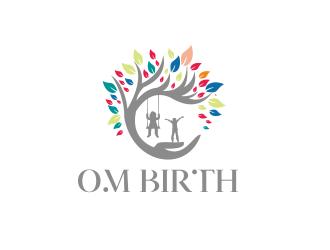 Om Birth logo design by Greenlight