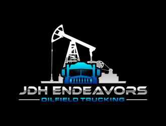JDH Endeavors  logo design