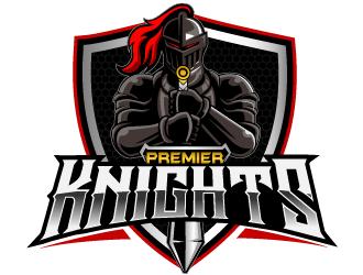 Premier Athletics Sports Academy AKA Premier Knights logo design